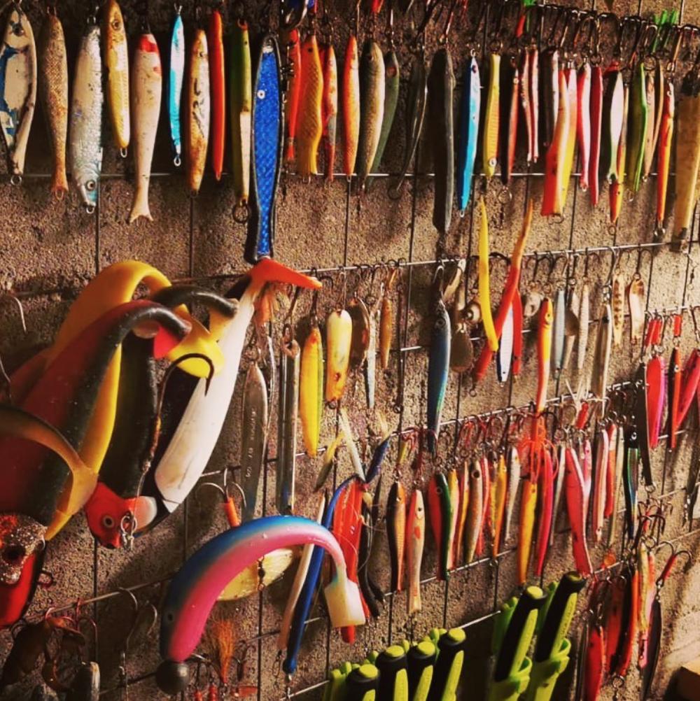 Tjongsfjord Lodge: рыболовные снасти